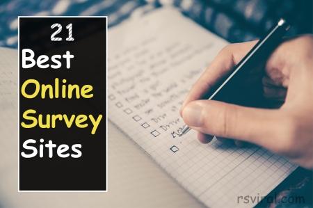 Best Online Survey Sites in 2019