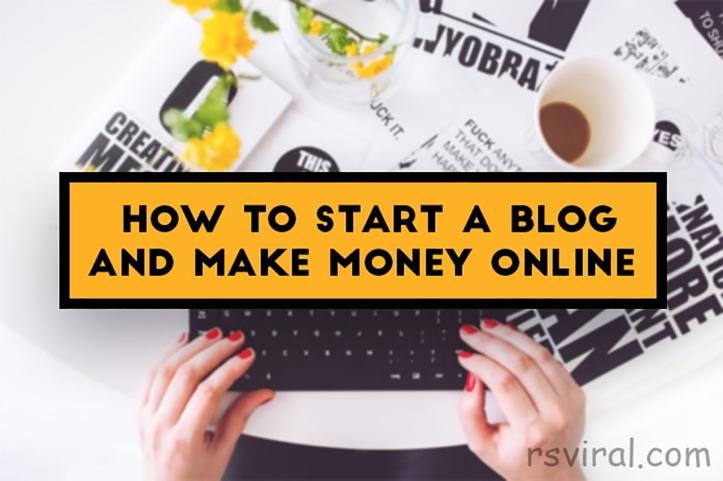 start a blog 2019